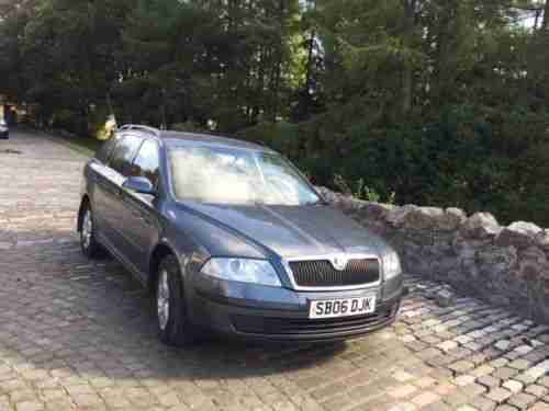 Skoda Octavia TDI. Skoda car from United Kingdom