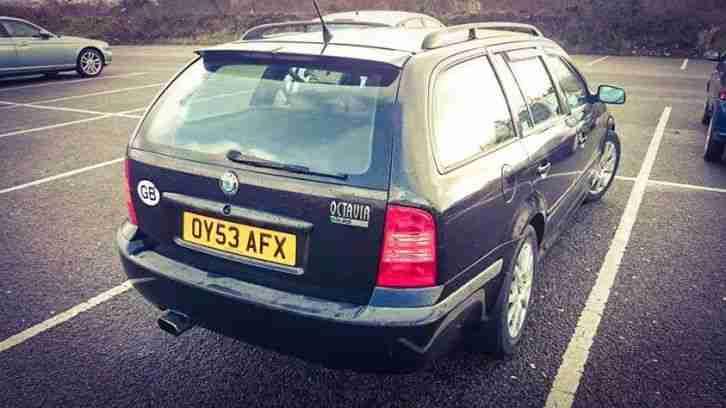 Skoda Octavia VRS Estate Black. car for sale