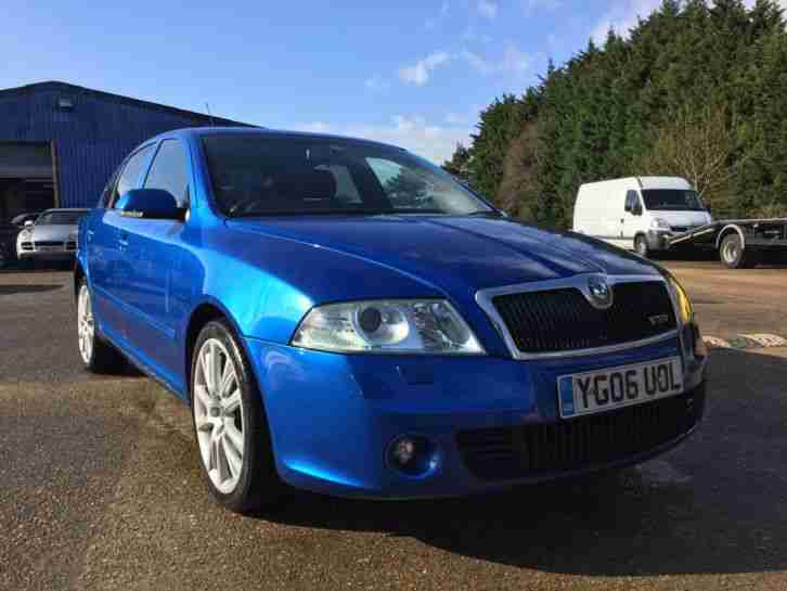 Skoda Octavia VRS Petrol Turbo 200 BHP In the best colour (LOW RESERVE AUCTION)
