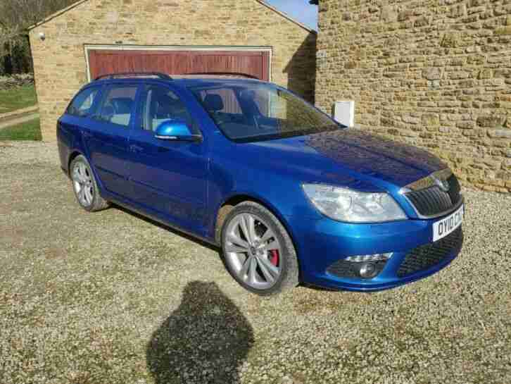 Skoda Octavia VRS Turbo diesel estate 2010