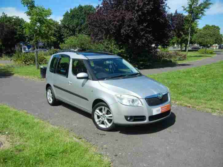 skoda roomster 1 6 16v 105bhp 3 mpv 5d 1598cc tiptronic. Black Bedroom Furniture Sets. Home Design Ideas