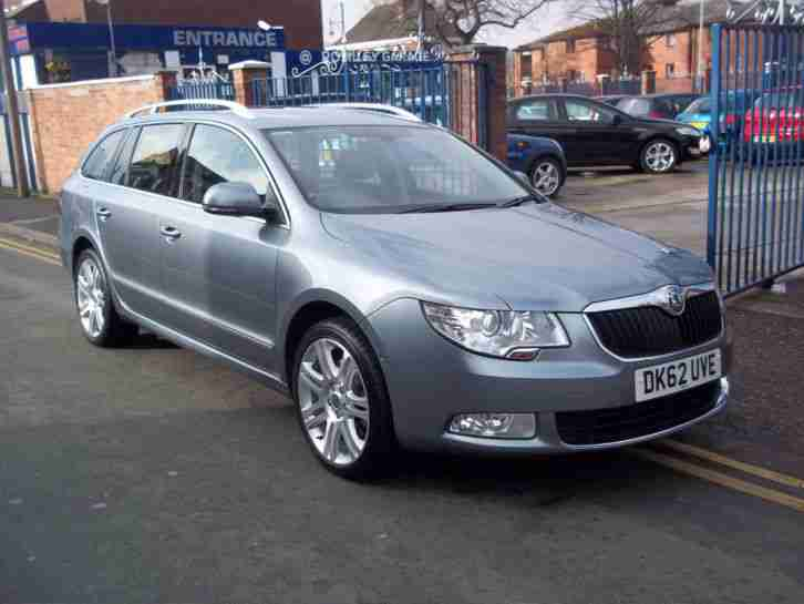 Skoda Superb 2.0TDI. Skoda car from United Kingdom