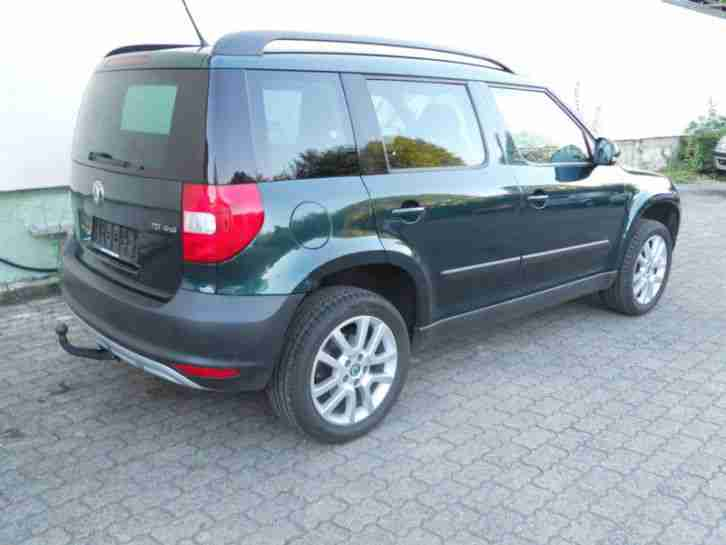 skoda yeti 2 0tdi cr 140ps 4x4 dsg seplus 2011 left hand drive. Black Bedroom Furniture Sets. Home Design Ideas