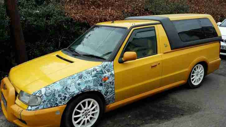 Skoda felicia fun pick up vw caddy lowered modified