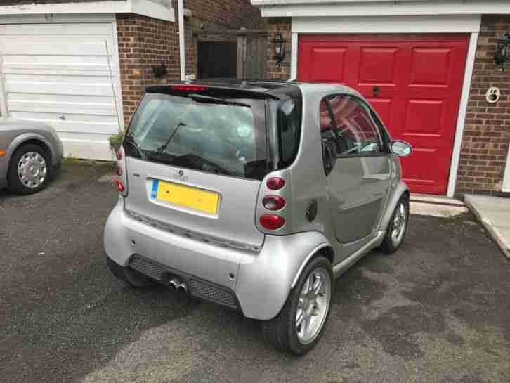 Smart Brabus Fortwo. Smart car from United Kingdom