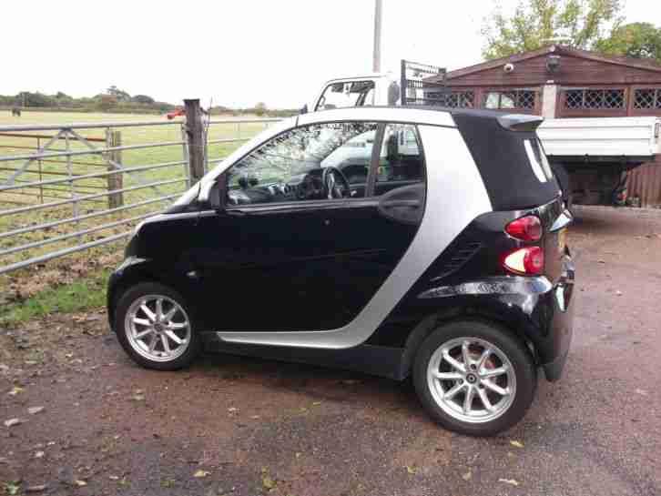 smart cabriolet diesel 2009 car for sale. Black Bedroom Furniture Sets. Home Design Ideas