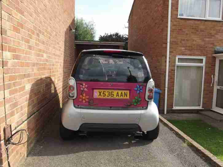 Smart Car 599cc semi auto low mileage xreg (2000)