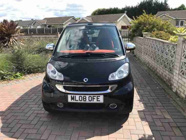 Smart Car Convertible. Smart car from United Kingdom