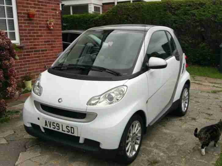 Smart Car Fortwo. Smart car from United Kingdom