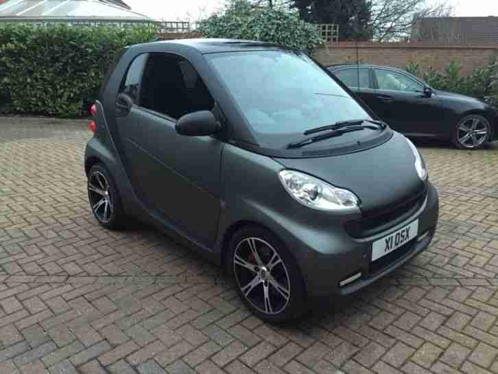 Smart Car Wrapped In Matte Black By Yiannimize With Lots Of Extras