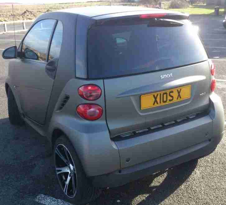 2009 Smart Fortwo Transmission: Smart Car Wrapped In Matte Black By Yiannimize With Lots