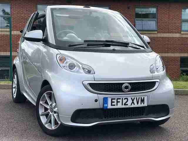 ForTwo 1.0 Convertible PAS 84bhp 1