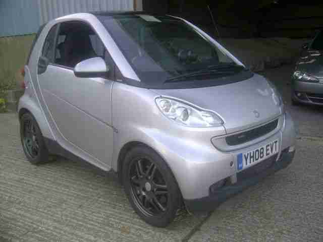Smart ForTwo 451 with set of Brabus Monoblock 16 17 Alloys+Tyres