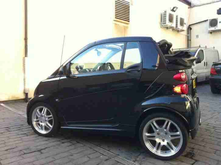 smart fortwo cabriolet brabus xclusive very rare car. Black Bedroom Furniture Sets. Home Design Ideas