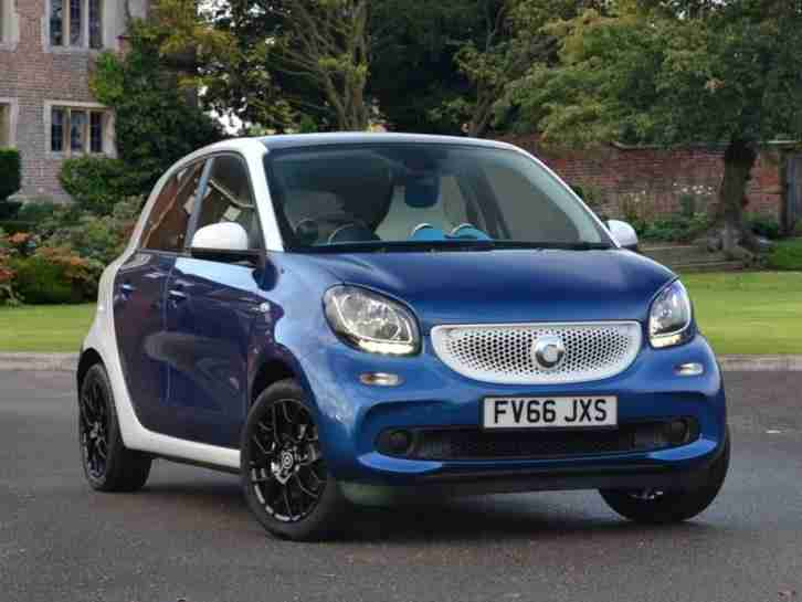 Smart Forfour Hatchback 2016 0.9 Turbo Proxy Premium 5dr Hatchback