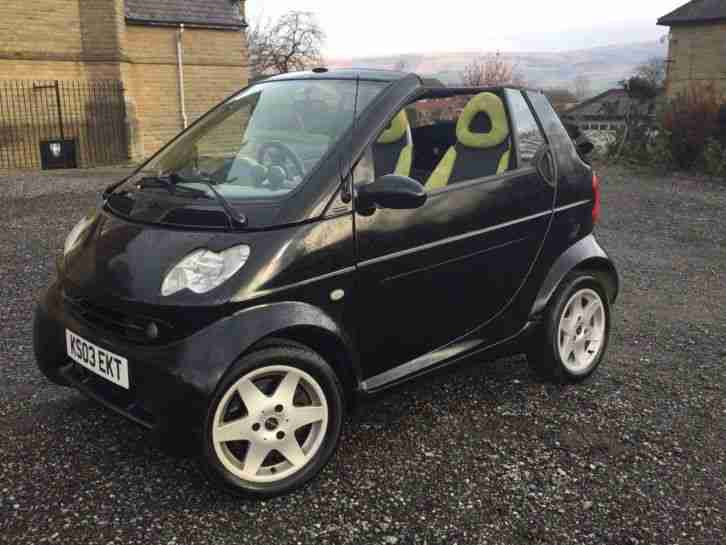 Smart Fortwo Convertible. Smart car from United Kingdom