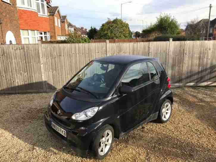Fortwo Coupe 2009 Black 1.0L Excellent