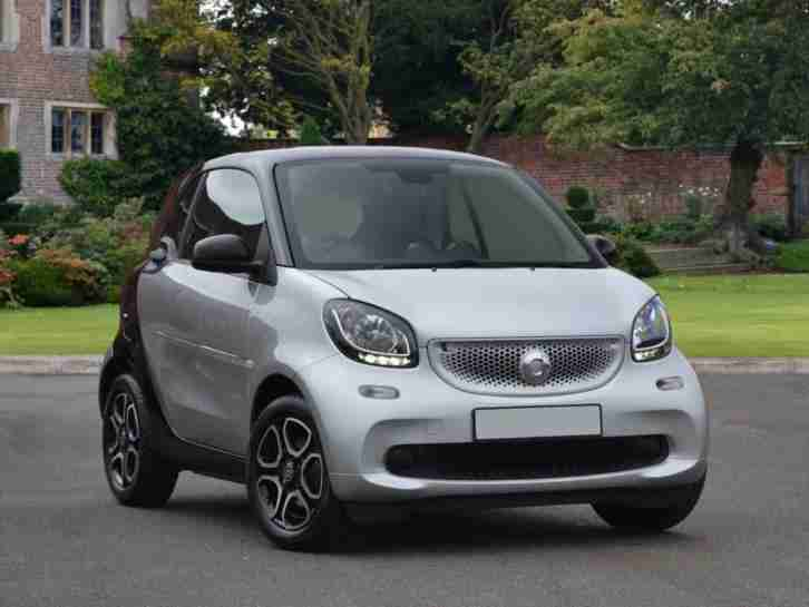 Smart Fortwo Coupe 2017 0.9 Turbo Prime Premium 2dr Auto Hatchback