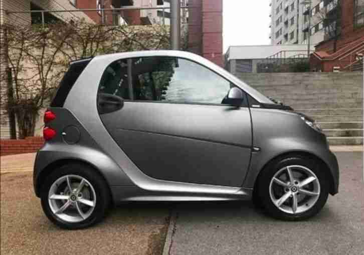 Smart Fortwo Pulse. Smart car from United Kingdom