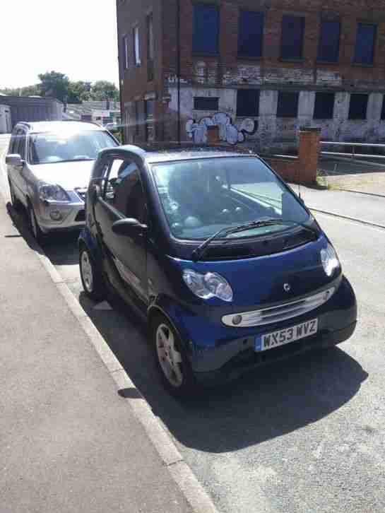 Smart Fourtwo Pulse. Smart car from United Kingdom