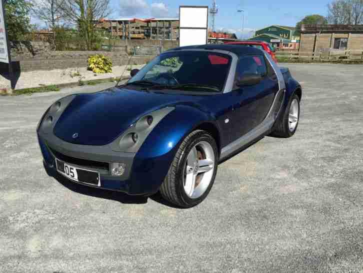 smart roadster 2005 with hardtop low mileage fsh car for sale. Black Bedroom Furniture Sets. Home Design Ideas