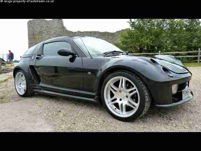 Smart roadster brabus coupe by mercedes car for sale - Smart brabus roadster coupe ...