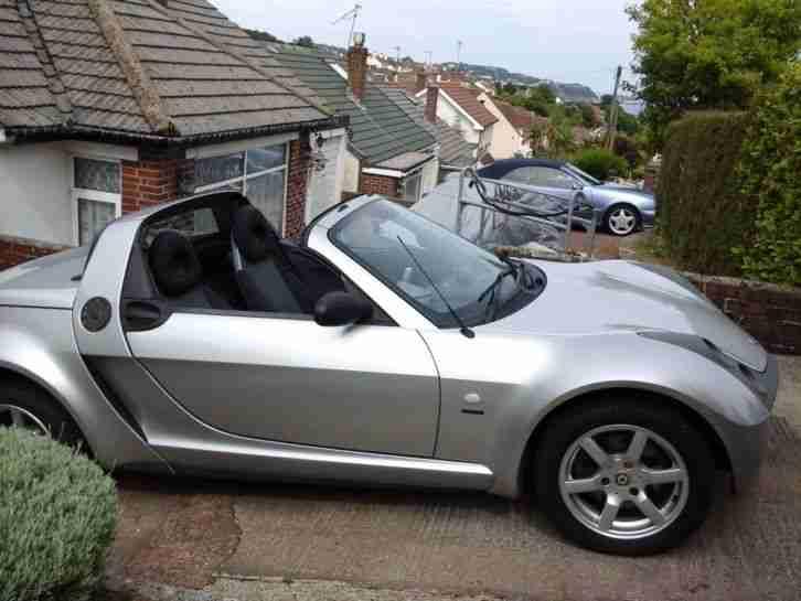 smart roadster convertible speed silver car for sale. Black Bedroom Furniture Sets. Home Design Ideas