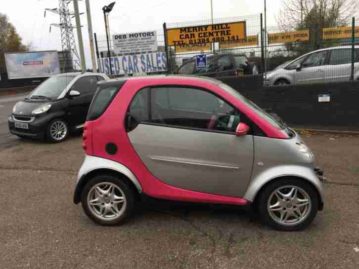 Smart Smart 0.7 Passion 2003 semi automatic glass pan roof Leather heated seats