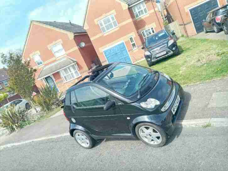 Smart Car cabriolet. Smart car from United Kingdom