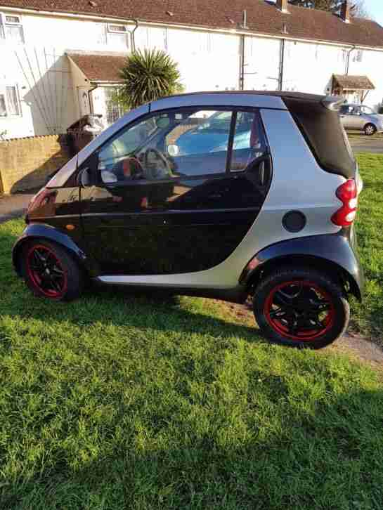 Smart car,passion cabrio, Brabus fortwo