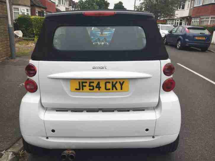 Smart for Two Passion Convertible White 2009