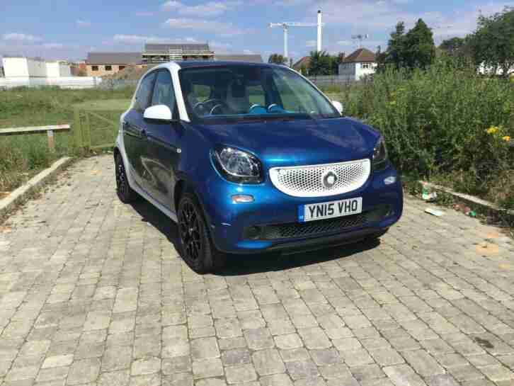 Smart Forfour 1.0. Smart car from United Kingdom