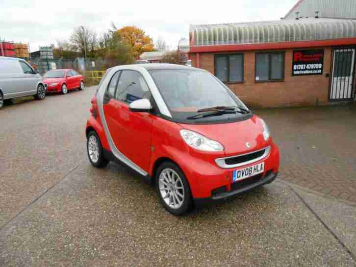 Smart fortwo 1.0 08 08 48k fsh FULL MOT SERVICED A CON REALLY NICE COLOUR