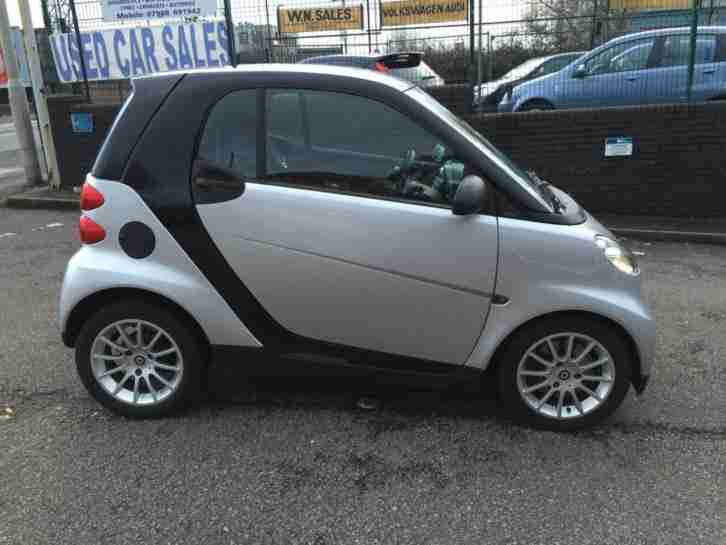 Smart fortwo 1.0 58 Reg 71bhp Passion Silver FSH 48000 Immaculate HPi Clear E/