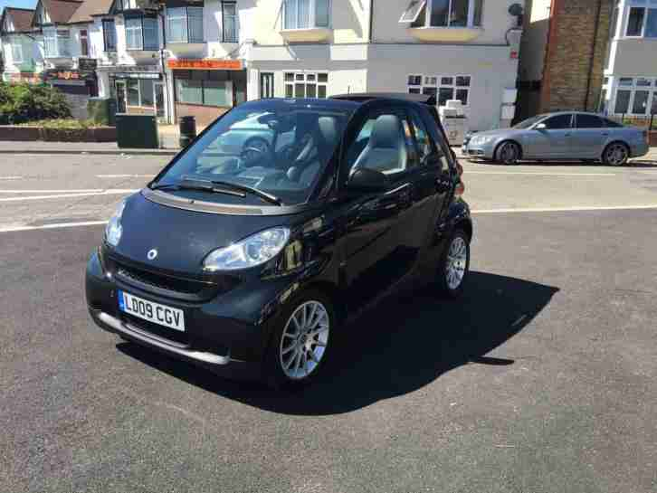 Smart fortwo 1.0 ( 71bhp ) Passion CONVERTIBLE 2009 09 REG FULL LEATHER