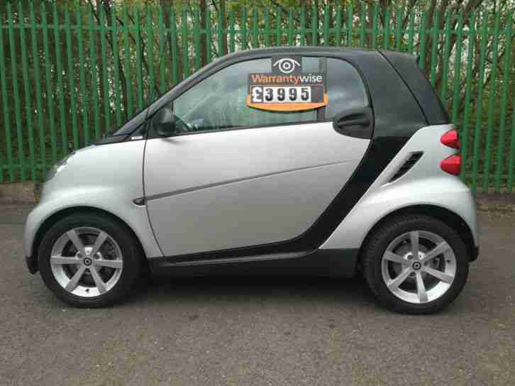 smart fortwo 1 0 71bhp pulse car for two 50000 miles fsh car for sale. Black Bedroom Furniture Sets. Home Design Ideas