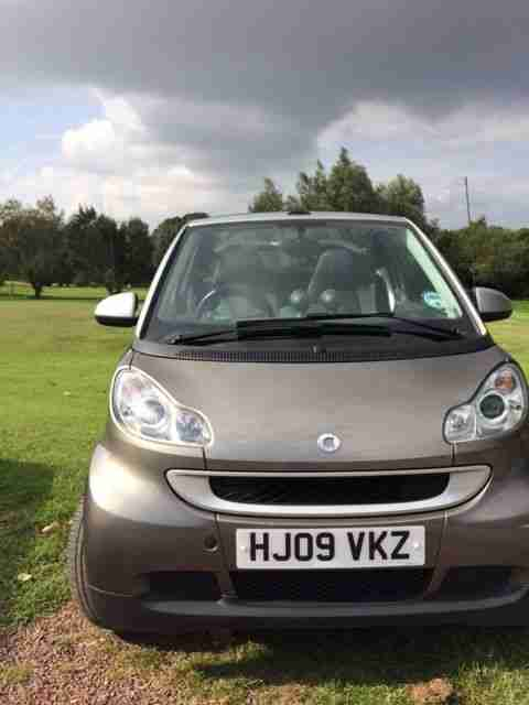 fortwo 1.0 Passion MHD Cabriolet.