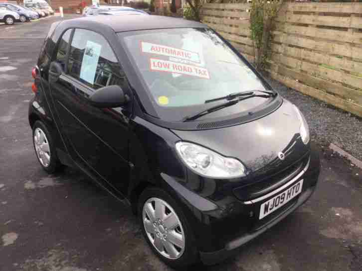 fortwo 1.0 Pure mhd auto 2009 black car
