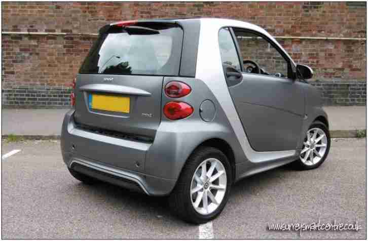 Smart fortwo 1.0 mhd ( 71bhp ) Softouch 2012MY Passion