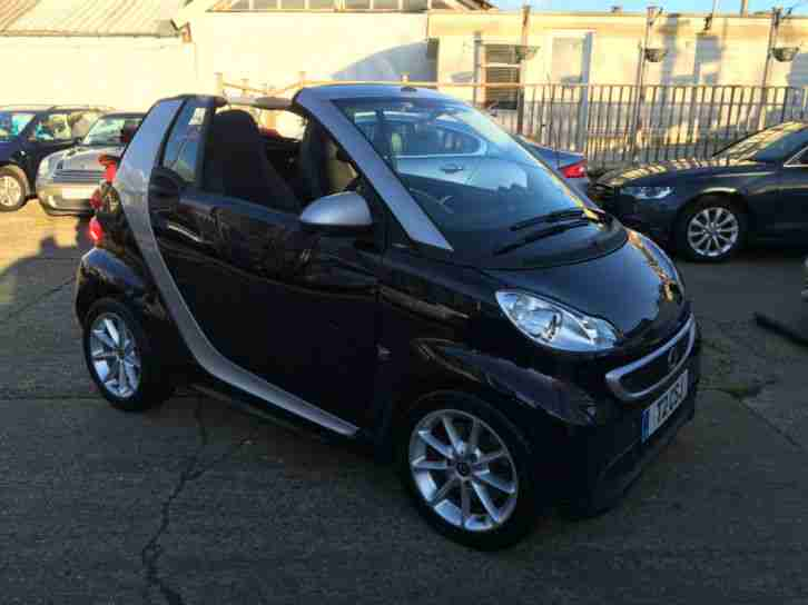 Smart fortwo 1.0 mhd ( 71bhp ) Softouch 2012MY Passion Covertible