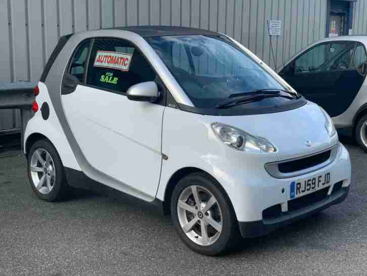 Smart Fortwo 1.0mhd. Smart car from United Kingdom