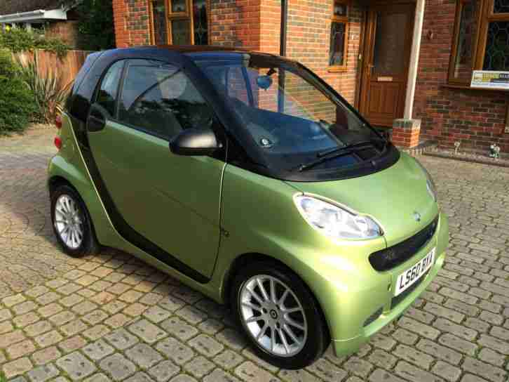 smart fortwo 71bhp softouch 2011 passion car. Black Bedroom Furniture Sets. Home Design Ideas