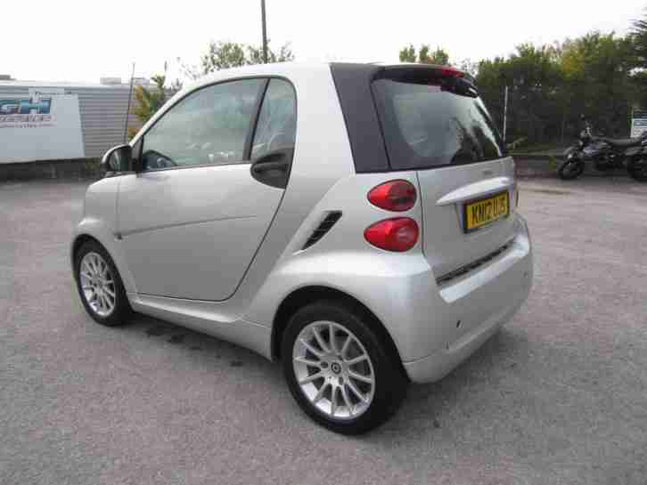 Smart fortwo 1.0mhd ( 71bhp ) Softouch 2011MY Passion