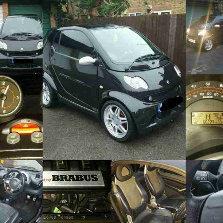 smart fortwo brabus car for sale. Black Bedroom Furniture Sets. Home Design Ideas