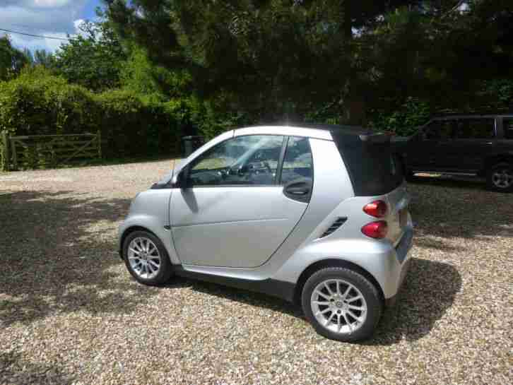 smart fortwo cdi passion cabriolet diesel car for sale. Black Bedroom Furniture Sets. Home Design Ideas