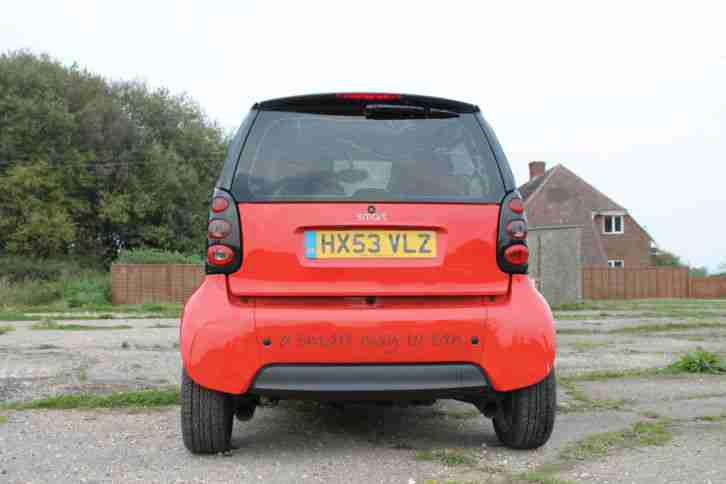 Smart fortwo city pulse 0.7 cc 61 semi-auto 2004 very economical cheap to run