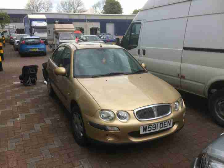 Spares or repair MG ROVER 25. 1994cc.Fuel pump issue. Starts with easy start.