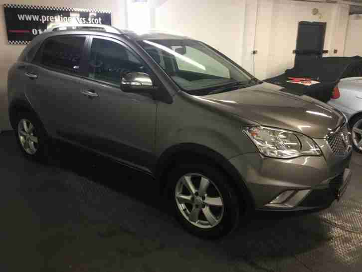 Ssangyong Korando 2.0TD ( 175ps ) Auto ES,warranty sept 2017,Full History