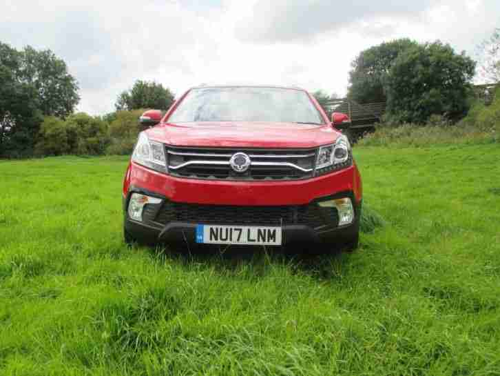 Ssangyong Korando 2.2. Ssangyong car from United Kingdom