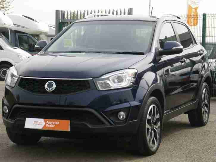 Ssangyong Korando 2.2TD. Ssangyong car from United Kingdom